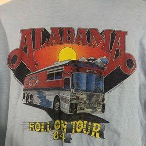 Alabama Vintage Band Tour Shirt Long Sleeve